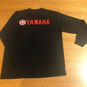 Yamaha, size Med. long sleeve black. Unisex